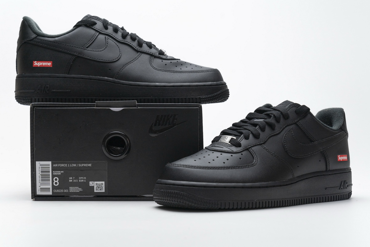 Perfectkicks   PK God Air Force 1 Low Supreme Black, CU9225-001Top quality PK God Air Force 1 Low Supreme Black - From ShareSneakers