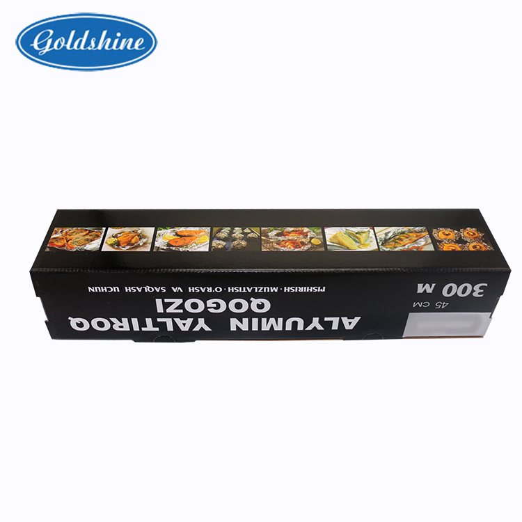 food packaging aluminium foil in roll type used in kitchen