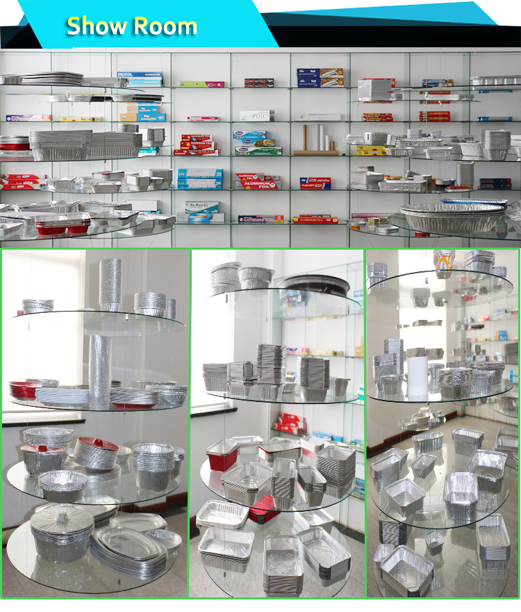 Aluminum foil kitchen roll food packaging