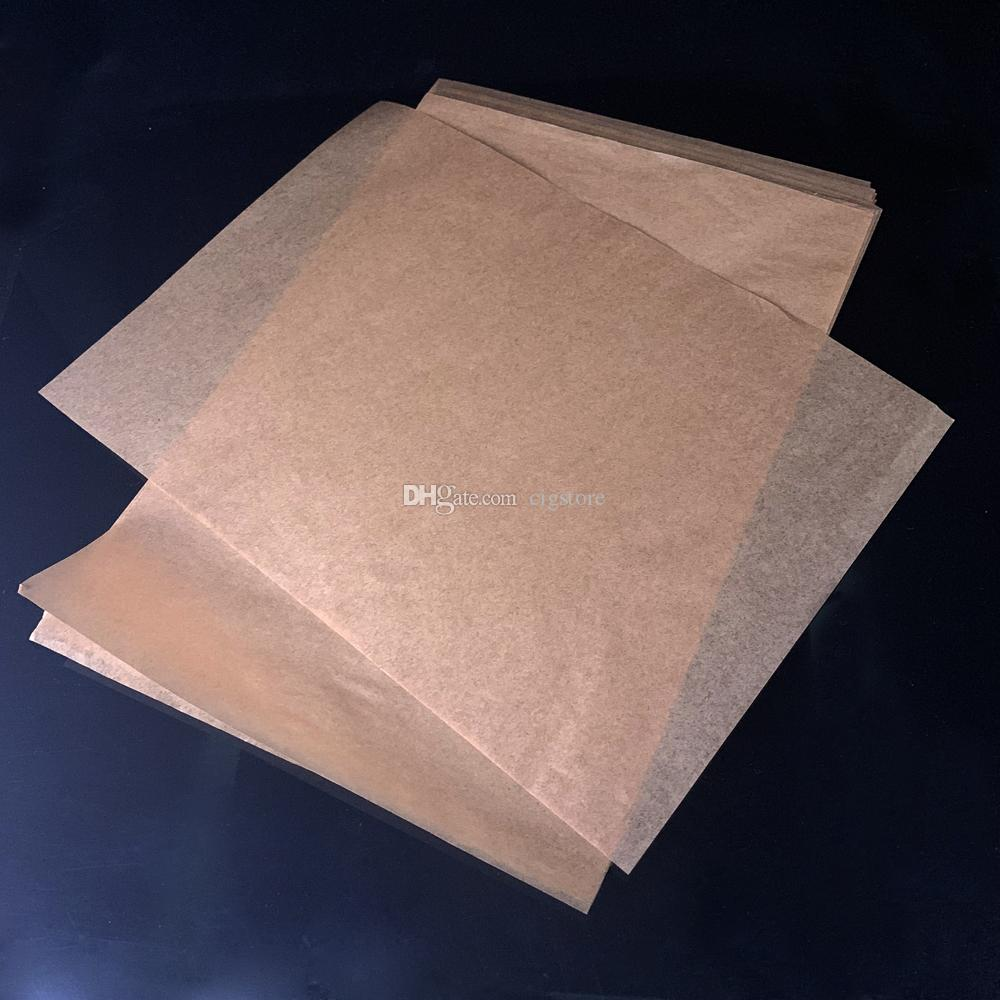 20*30CM Household Food Grade Bread Greaseproof Baking Paper Sheets parchment paper for Rosin Press Wax DAB Dabber Tool