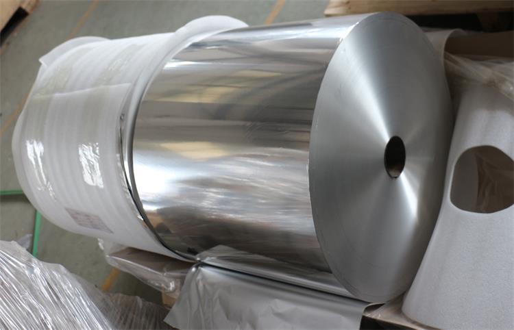 Printed Treatment and Hard Temper aluminum foil Jumbo Roll