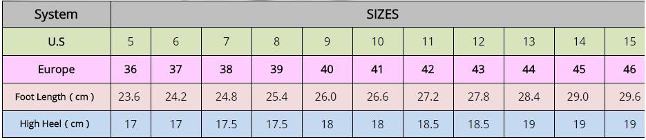 Ankle Straps Open Toe Ultra High Heels 18Cm Women Sandals