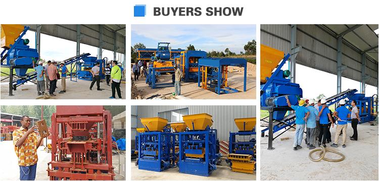 China Yingcheng Machinery High Quality QT4-24B Machine De Blocs De Beton HOTTEST SALE