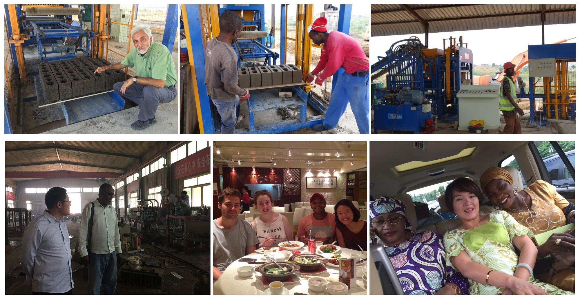 qmr2-40 movable manual clay interlocking brick make machinery lego block making machine