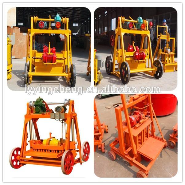 QT40-3B selling well high quality ecological interlock brick making machine price