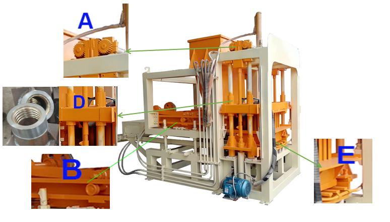 Small Block Making Machine For Sale automatic interlocking bricks machine latest Leca Concrete Blocks
