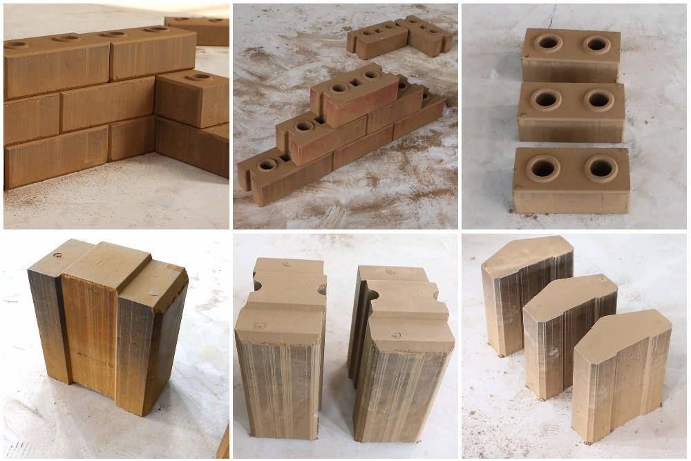 Mud Brick Machine Clay Bricks Machines Line Hollow Block In Canada Only Dirt Bricks Making Machine
