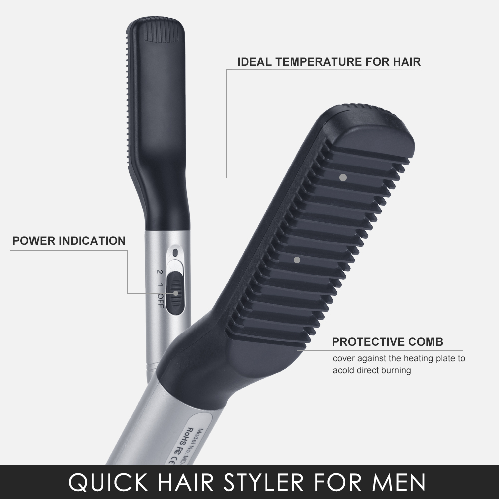 Professional Hair Straightener Plate Flat Iron Fast Heating-up with Rotating Adjustable temperature