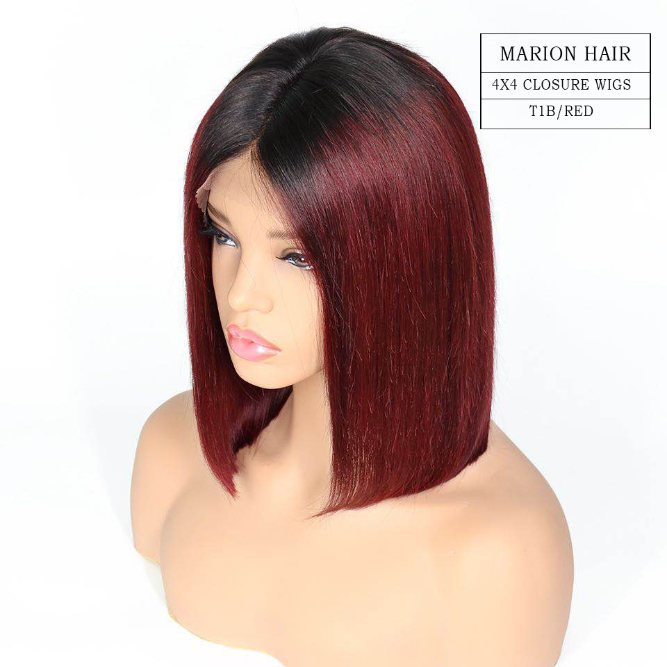 4x4 closure wigs