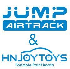 JUMP AIRTRACK & HNJOYTOYS portable paint booth