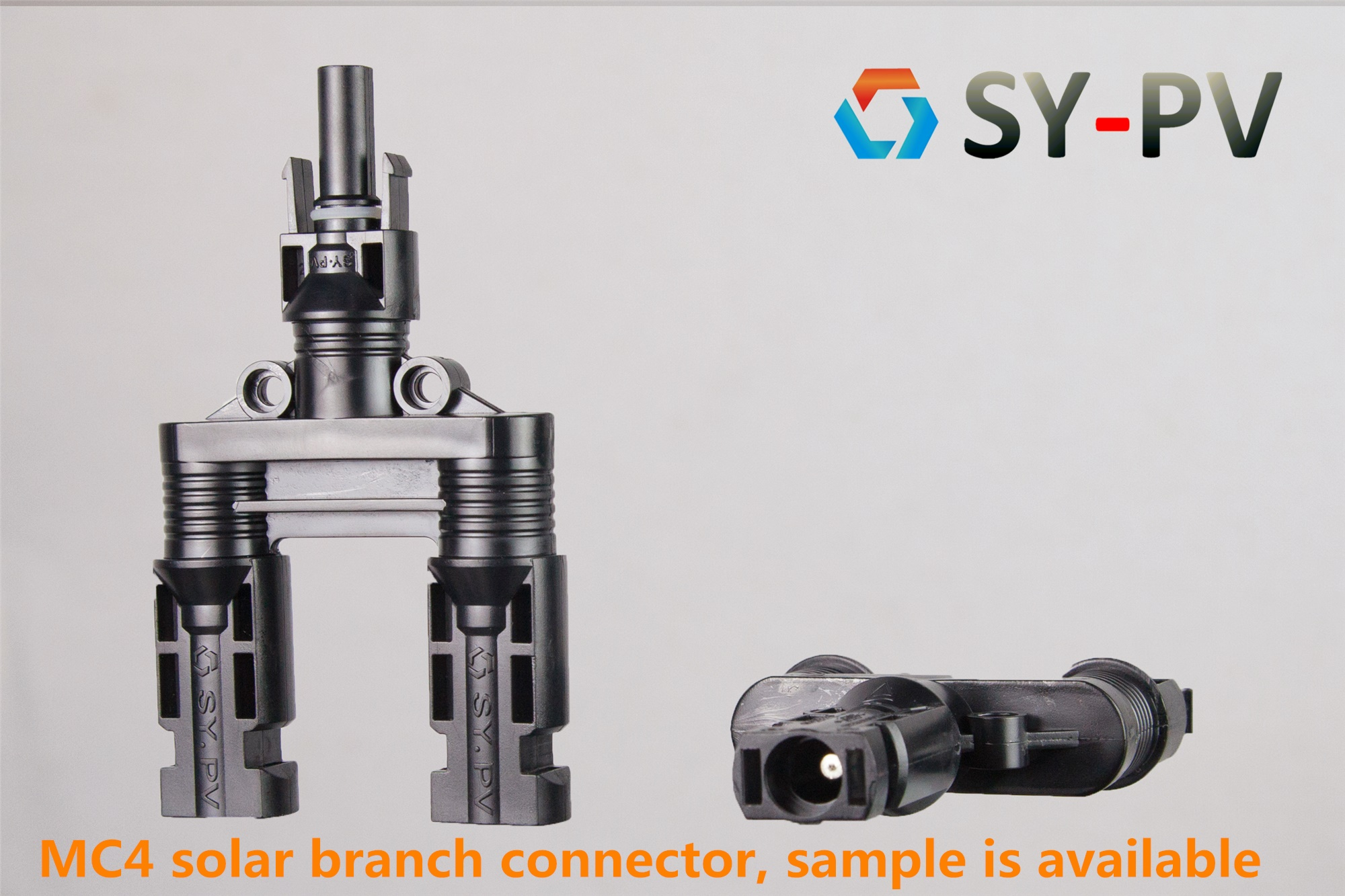 T MC4 compatible Y branch PV conector box branch connector solar manufacturer in China Y branch connector solar connector manufacturer mc4 manufacturerFast assembly solar branch connector free sample MC4 manufacturer