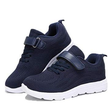 Kids Sneakers Lightweight Breathable Non-Slip Athletic Boys Girls Running Shoes