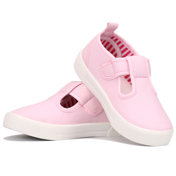 New Toddler Girls T-Strap Sneakers Kids Mary Jane Canvas Shoes for toddlers with wide feet Girls Sneakers