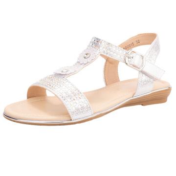 Little Big Kids Girls Sandals Party Wedding Princess Dress Toddler Sandals Platform Wedge Heel Sandals