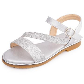 Little Girl's Open Toe Summer Flat Sandals Toddler Sandals