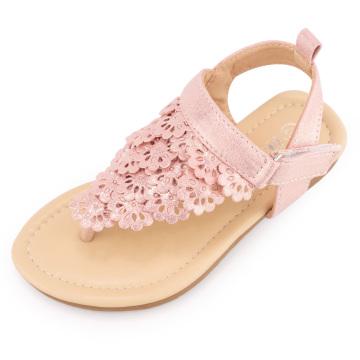 MUYGUAY Toddler Little Girls Sandals Flip Flops Open-Toe Ankle Strap Summer Dress Toddler Shoes