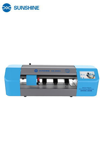 SUNSHINE SS-890C Phone and Table Pad Screen Protector Cutting Machine and Cutter Head Core