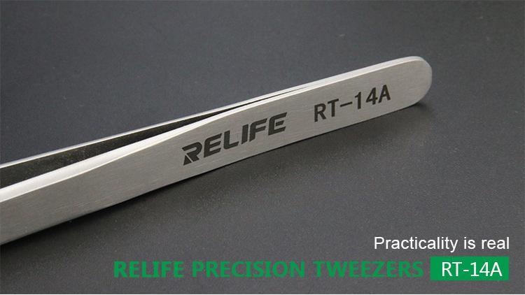 RELIFE RT-14A Straight TweezerRELIFE RT-14A Straight Tweezer