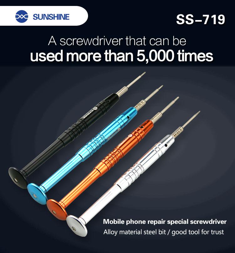 SUNSHINE SS-719 Screwdriver 0.8* 1.2+ 1.5+ 0.6YSUNSHINE SS-719 Screwdriver 0.8* 1.2+ 1.5+ 0.6Y