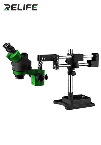 RELIFE RL-M3T-STL2 Trinocular HD Stereo Microscope + SUNSHINE SS-033 black Led lamp + 0.5CTVRELIFE RL-M3T-STL2 Trinocular HD Stereo Microscope + SUNSHINE SS-033 black Led lamp + 0.5CTV