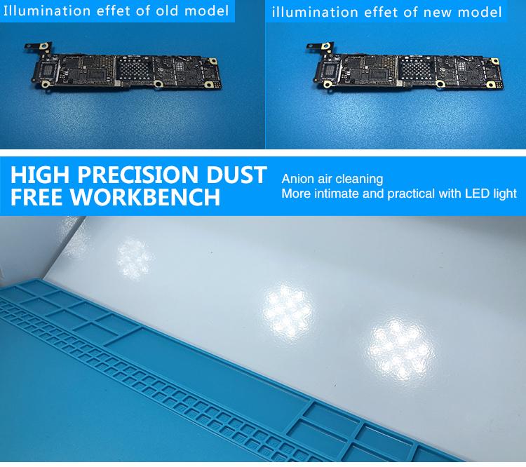 SUNSHINE SS-917C Dustless Worktable Hight Precision Dust Free Workbench (Upgraded Filter Element)SUNSHINE SS-917C Dustless Worktable Hight Precision Dust Free Workbench (Upgraded Filter Element)
