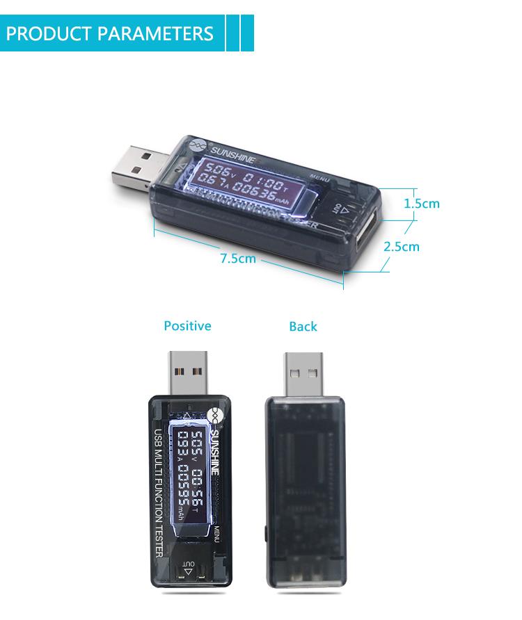 SUNSHINE SS-302A USB Digital Testersunshine SS-302A USB Digital Tester