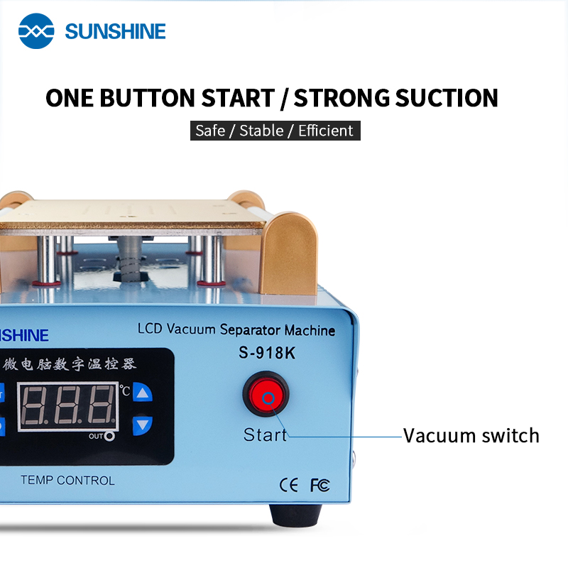 SUNSHINE S-918K Separator Wide Voltage  Bluesunshine S-918K Separator Wide Voltage  Blue
