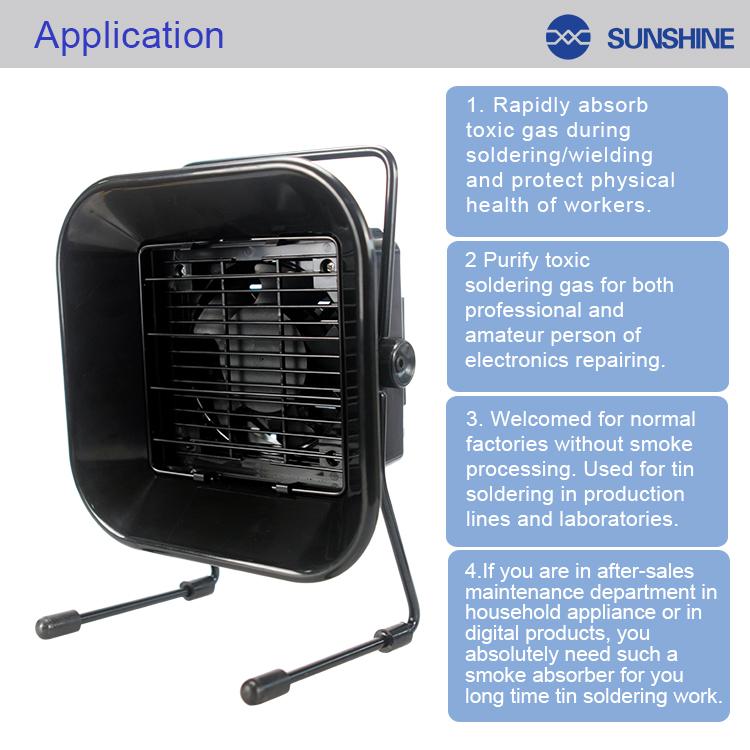 SUNSHINE SS-493E Anti-Static Smoke Absorbersunshine SS-493E Anti-Static Smoke Absorber