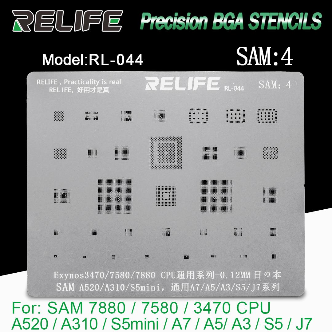 RELIFE RL-044 Samsung BGA stencil / 0.12MMrelifeRL-044 Samsung BGA stencil /0.12MM