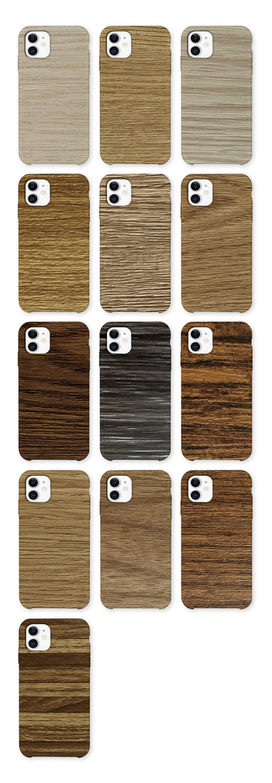 SUNSHINE SS-057D W01-W13 backcover sticker wood grain style