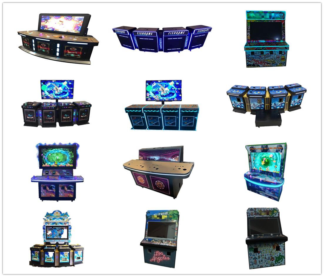 Luxury Life Cars Shooting Fishing Game Machine Fish Game Table Arcade Fishing Games
