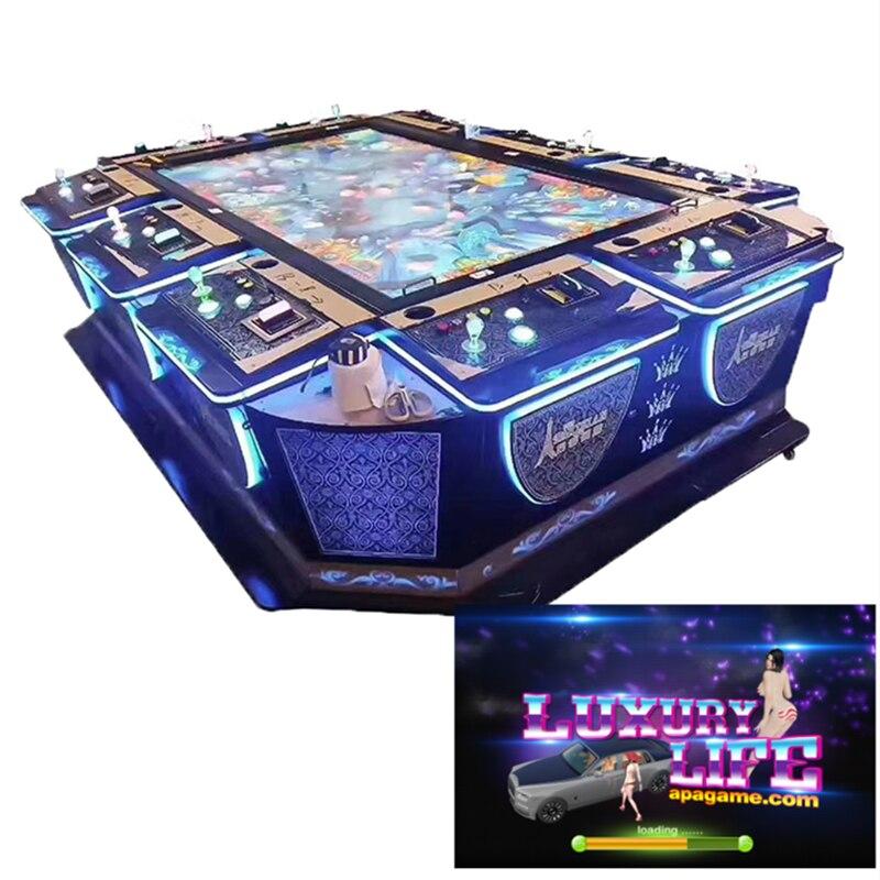 2021 Hot Sales Fishing Game Machine Table Luxury Life Cars Shooting Fish Game Board Kit