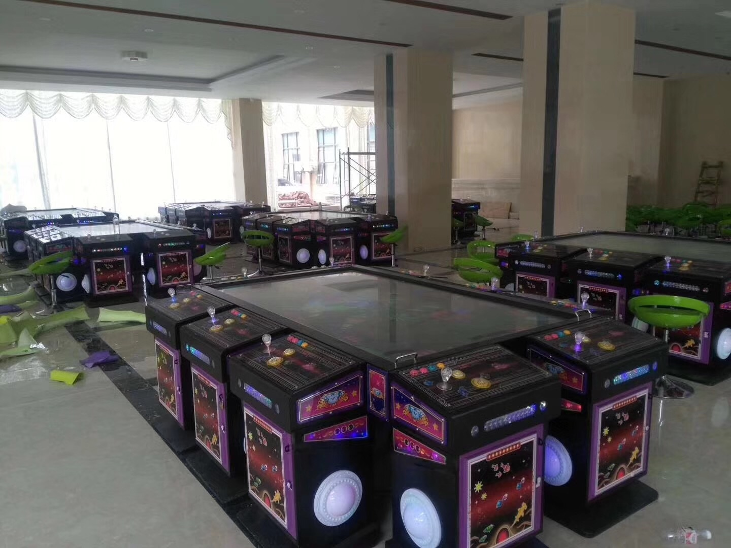 Fish Arcade Tables Parts Wireless Arcade 8P Control Table Console Set with Joystick Buttons SetFish Arcade Tables Parts Wireless Arcade 8P Control Table Console Set with Joystick Buttons Setfish arcade tables parts